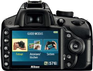 Nikon D3200 Digital SLR Camera controls