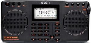 eton g2 reporter fm am sw recording analogue radio