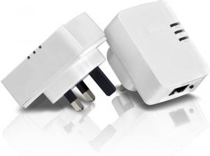 Trendnet TPL308E2K 200 Mbps Mini Powerline Ethernet Adapter