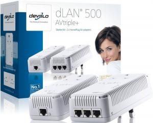 devolo dlan 500 avtripple powerline