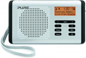 Pure Move 400D Palm Sized Rechargeable Digital DAB FM Radio