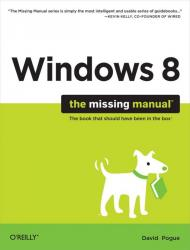 windows 8 the missing manual