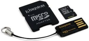 Kingston Technology 32GB microSDHC Class 10 Multi Kit Memory Card