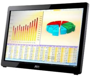 AOC E1649FWU 16 USB Powered Portable LED Monitor