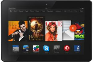 kindle fire hdx 7inch entertainment tablet