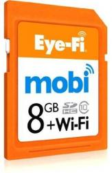 Eye Fi Mobi Wireless SDHC Card for Digital Cameras