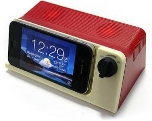 retro ipod touch speaker