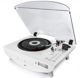 GPO Jive 3 Speed Record Player with CD and MP3