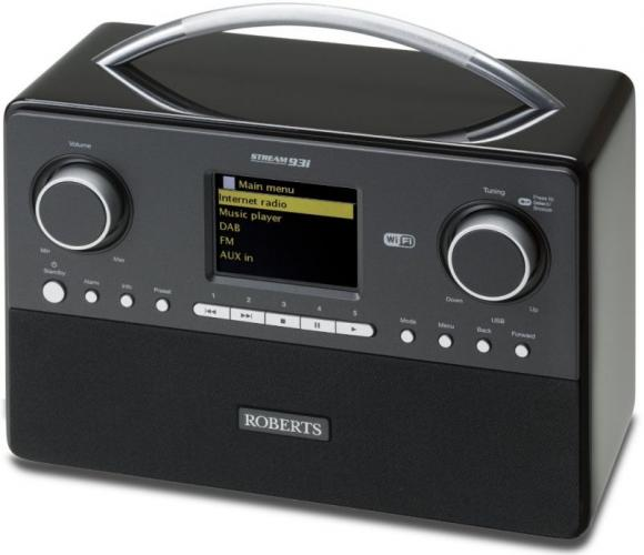 Review roberts stream 93i for Radio parlamento streaming