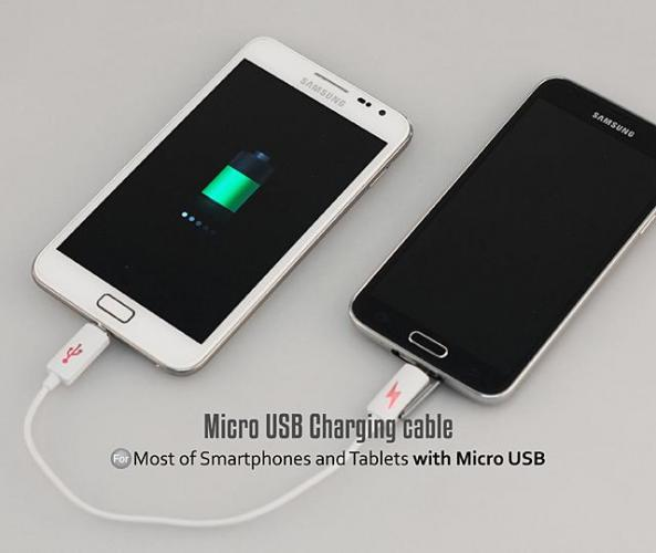 Phone to charging cable