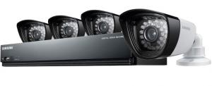 Samsung SDH B3040 1 TB 4 Channel HD DVR Security System Webcam