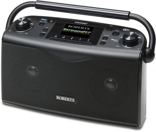Music Player and Spotify Connect Roberts Radio Stream207 DAB//DAB+//FM//Wi-Fi Radio with Internet