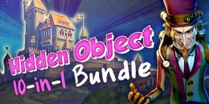 gamehouse Hidden Object 10 in 1 Bundle