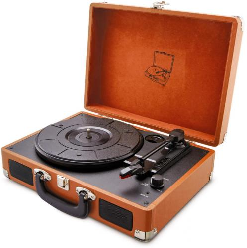 Review Aldi Suitcase Lp Player