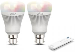 WiZ Colours WiFi connected smart LED Candle B22 bulb