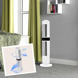 Dimplex Xpelair Skyscraper 360 Degree Rotating Tower Fan