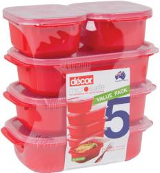 Decor Microsafe Containers