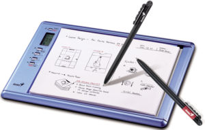 G-Note 500 handwriting recognition tablet