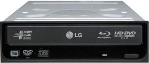 Front image : LG Super Multi Blue DVD re-writer