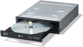 Internal LG Super Multi-Blue Blue-Ray DVD read/writer