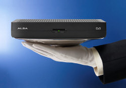 Alba STB8 Freeview Receiver