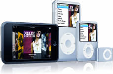 Apples revamped iPod family, including nano, shuffle, classic and touch