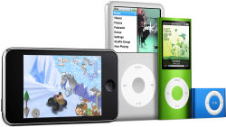 Apple iPod family - 2008 line-up