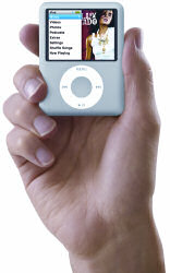 The new Apple iPod Nano