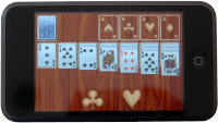 Apple iPod Touch Solitaire game