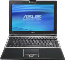 Asus VX3 Lamborghini - open showing keyboard