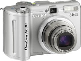 Canon A630 Digital Camera