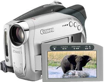 Canon DC19 digital camcorder
