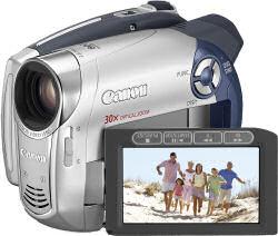 Canon DC201 digital camcorder