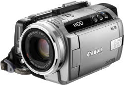 Canon HG10 high-definition digital hard disk camcorder