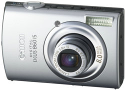 Canon IXUS 860IS compact digital camera