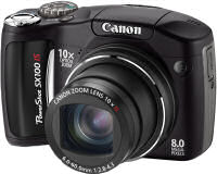 Canon PowerShot SC100IS Digital Camera