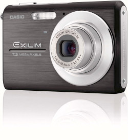 Casio Exilim EX-Z75 camera