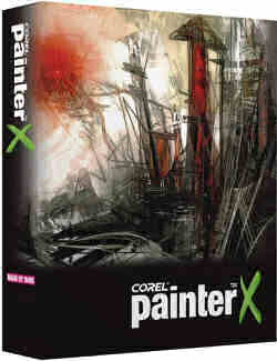 Corel Painter-X software package - box shot