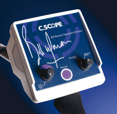 Bill Wyman Signature Metal Detector from C.Scope