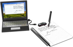 DigiScribble hand-writing recognition software