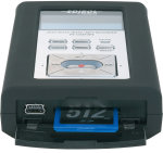 Mempory slot in Edirol RO9HR voice recorder