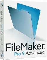 FileMaker Pro 9 Advanced box shot