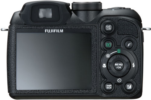 FujiFilm S1000fd DSLR - view of controls
