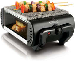 Giles & Posner hot stome grill