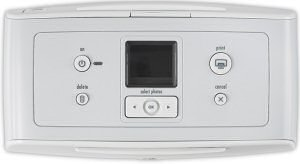 HP Photosmart 335 printer - controls