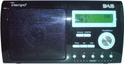 Intempo TRS-01 DAB Digital Audio Broadcasting Radio