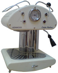 Kenwood Retro Caf� espresso coffee machine