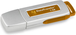 Kingston 2Gbyte Datga Traveller Flash USB stick
