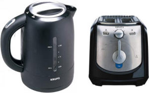 Krups FLF294 kettle and FEM231 toaster