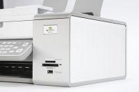 Lexmark X6570 memory slots and wifi logo